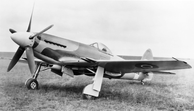 Supermarine Spiteful RB518