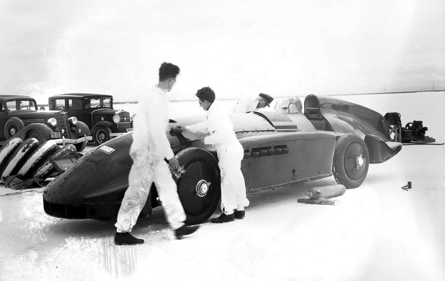 Flying Spray April 1936 run