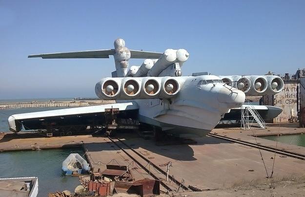 Lun MD-160 Ekranoplan Kaspiysk