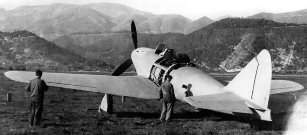 Piaggio P119 rear