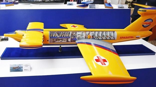 Spasatel Ekranoplan Model