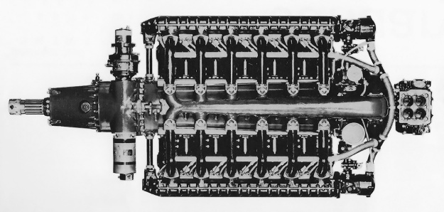 Continental-O-1430-engine-top