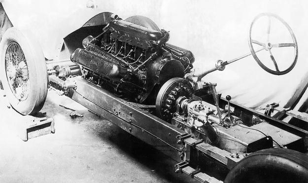 Napier-Railton-Chassis