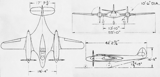 McDonnell-Model-2A-drawing