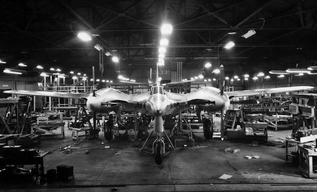 McDonnell-XP-67-construction