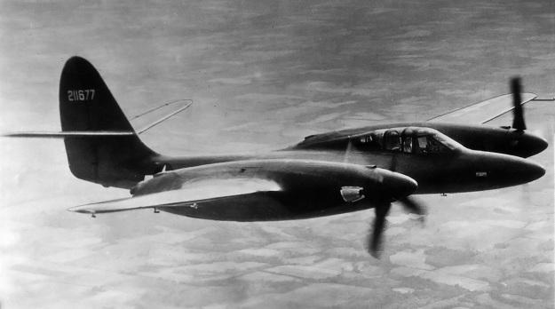 McDonnell-XP-67-in-flight
