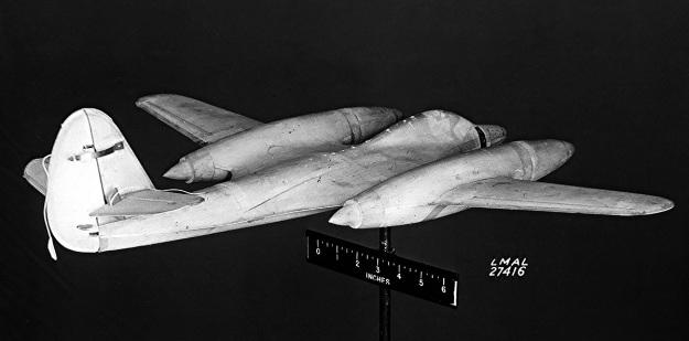 McDonnell-XP-67E-model