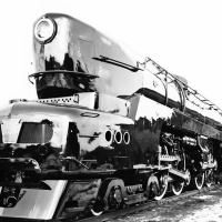 Pennsylvania Railroad 4-4-4-4 T1 Locomotive