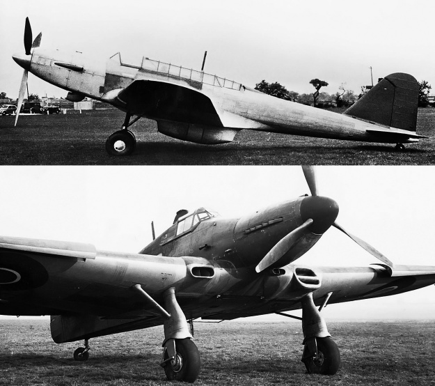 Fairey-Battle-Napier-Sabre-I-and-Folland-Fo108-Sabre-II