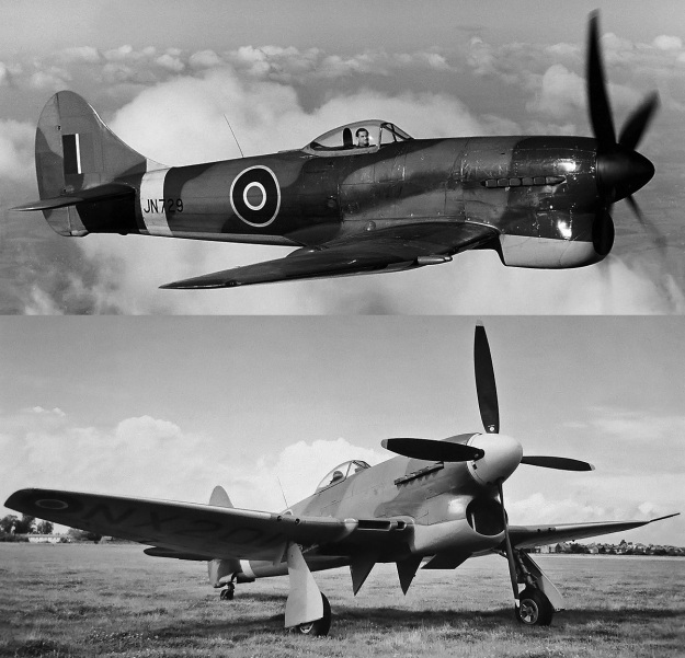 Hawker-Tempest-V-and-VI-Napier-Sabre-IIA-and-VA