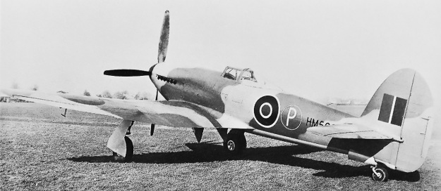 Hawker-Tempest-I-rear