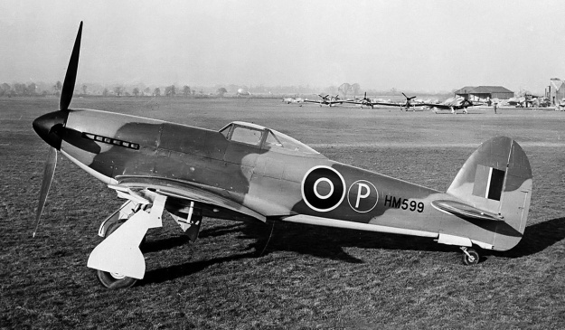 Hawker-Tempest-I-side-high