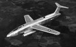 Martin-XB-51-flight-top
