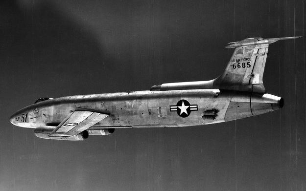Martin-XB-51-flight