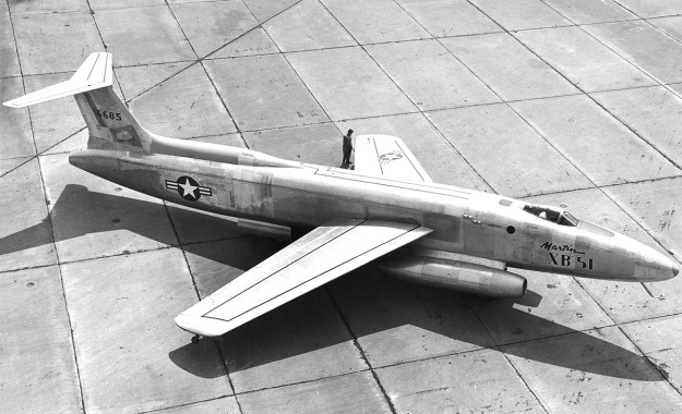 Martin-XB-51-rollout