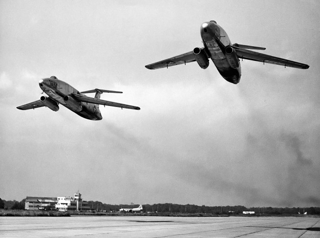 Martin-XB-51-two-ship-pass