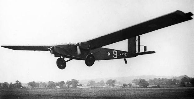 Beardmore-Inflexible-flight