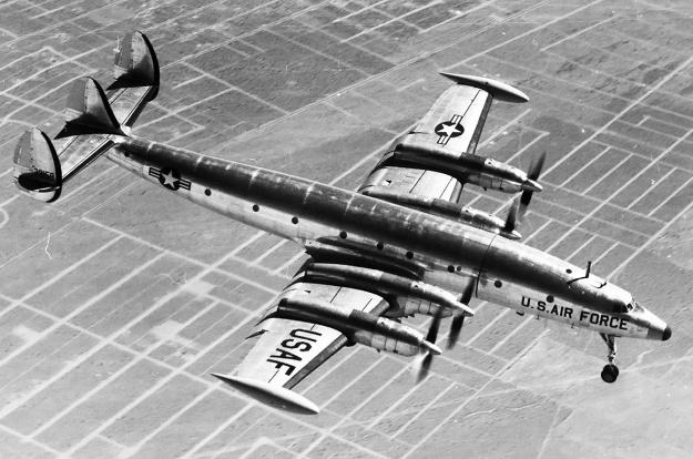 Lockheed-1249-YC-121F-58-8258