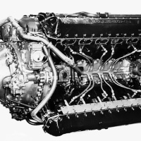 Rolls-Royce Vulture X-24 Aircraft Engine