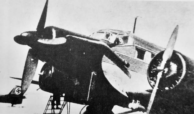 Junkers-Jumo-222-Ju-52-testbed