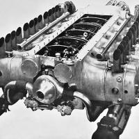 Caffort 12Aa 12-Cylinder Aircraft Engine