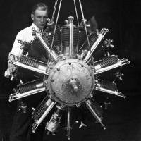 Anzani 20-Cylinder Aircraft Engine